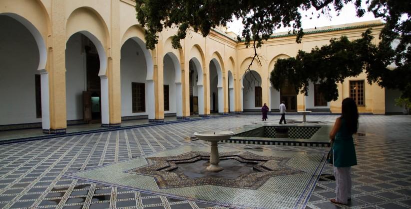 Dar Batha Museum fes medina fez Morocco
