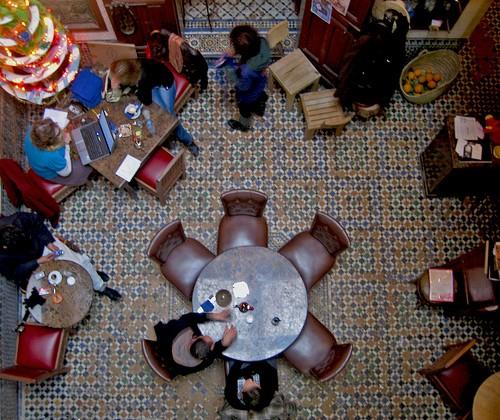 Cafe Clock fes, fez medina