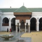 Courtyard, Al-Qarawiyyin University, Fes. Morocco