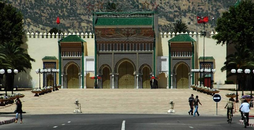 royal palace door, fes