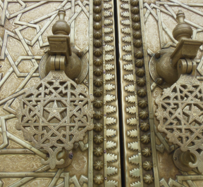 fes royal palace door