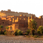 ait benhaddou village near ouarzazate city