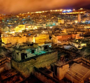 fes - fez by night