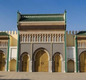 royal palace fes, Morocco