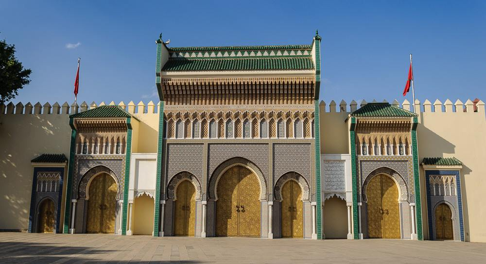 royal palace fes, Morocco