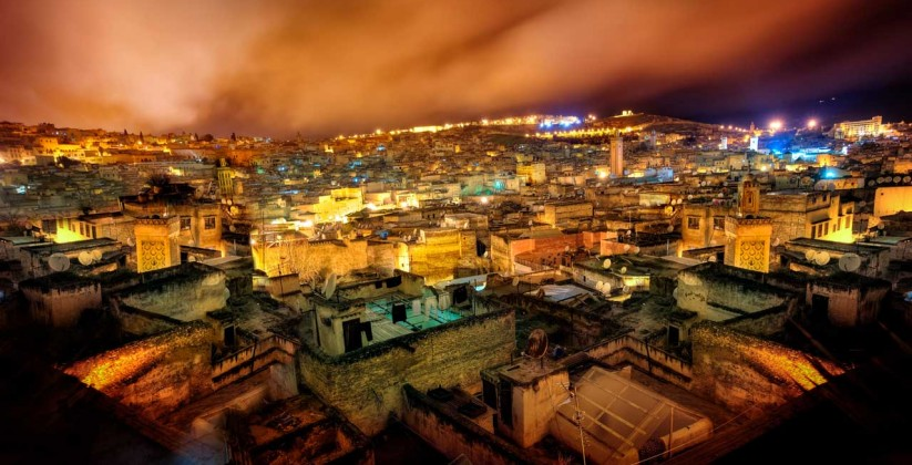 fez by night