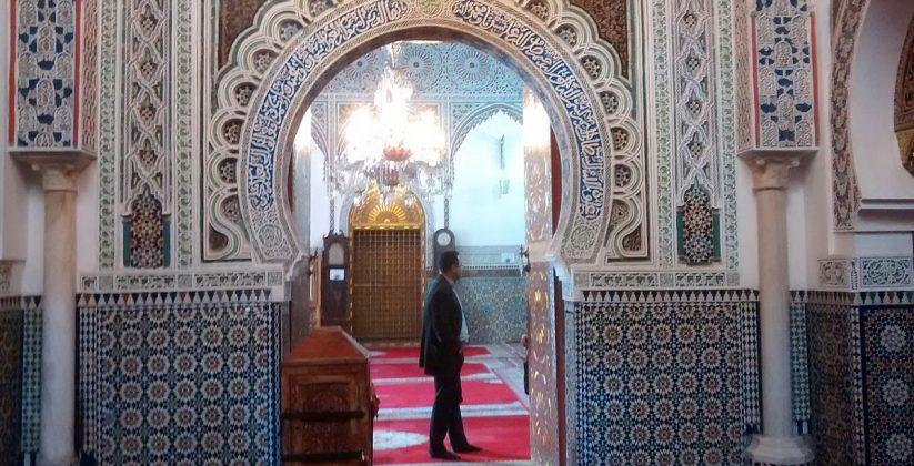 Zaouia Moulay Idriss II in fez medina