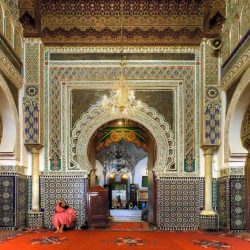 Zaouia Moulay Idriss II in fes medina