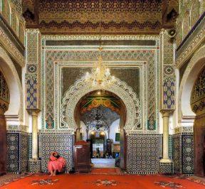 Zaouia Moulay Idriss II in fes medina