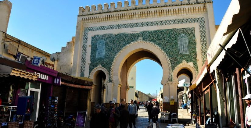 bab boujloud in fes
