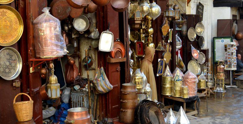 place Seffarine, Fes, Morocco