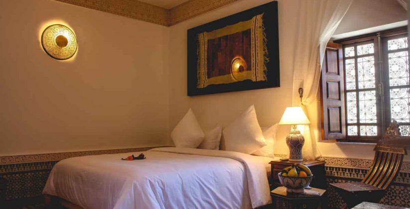 room at riad mazar fes