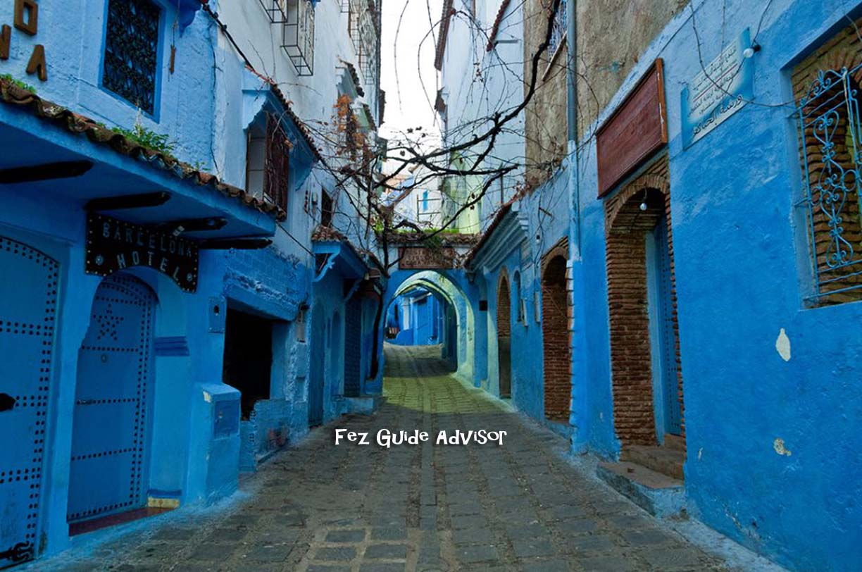 fes to chefchaouen trip