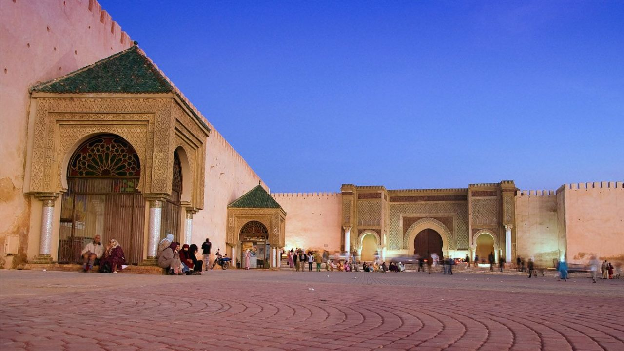 the imperial city of Meknes