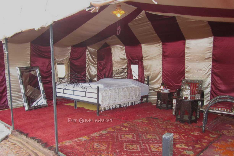 Morocco desert camp
