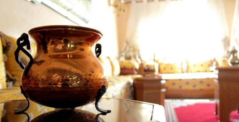 silver arts in Morocco
