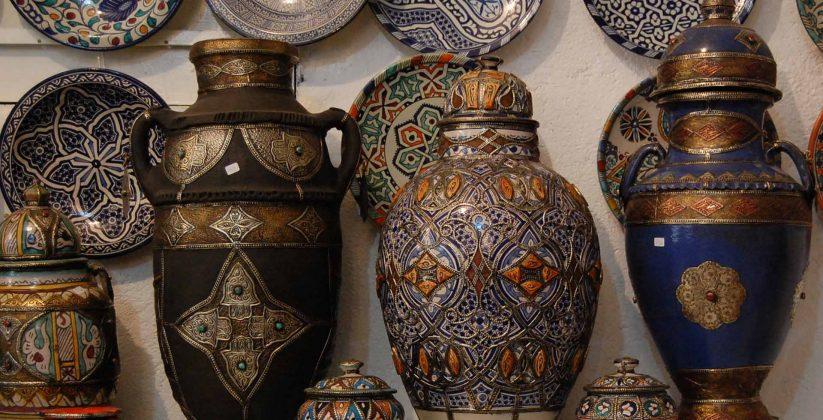 Fes pottery
