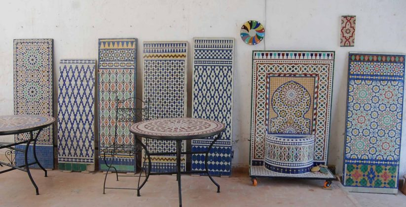 Moroccan Zellige and Ceramics