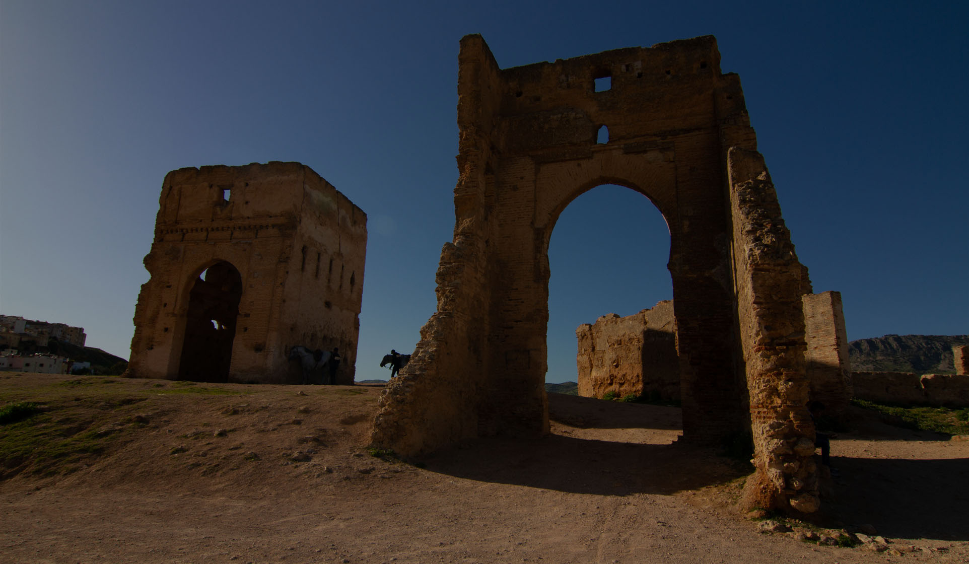 the Ramparts of Fes Medina