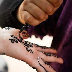 henna tattoo in fez